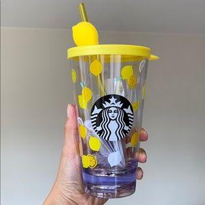 Starbucks Hong Kong Summer fun lemon cup